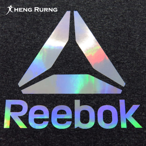 Shiny Silver Surface With Rainbow Color Foil Heat Transfer-B-5-2